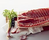 Saddle of pork