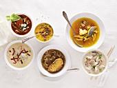 Autumnal soups