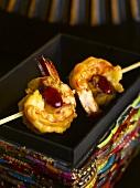A prawn kebab