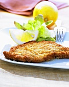 Wiener schnitzel (Breaded veal escalope)