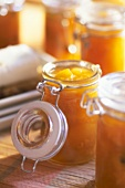 Sweet and sour apricot preserve