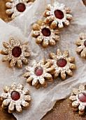 Gingerbread Spitzbuben (jam cookies)