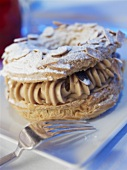 Paris Brest (Choux pastry filled with mocha cream)