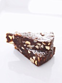Panforte al cioccolato (Chocolate panforte, Tuscany)