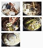 Fischbrühe zubereiten
