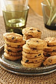 Parmesan and olive biscuits to serve with aperitifs