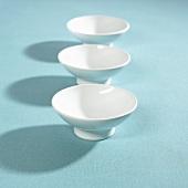 Three china bowls