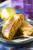 Pastilla with minced beef filling (Morocco)