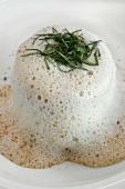 Krabben-Muschel-Lasagne mit Gewürz-Schaum