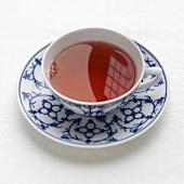A cup of fruit tea