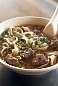 Beef noodle soup (Asia)