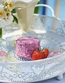 Berry and yoghurt parfait