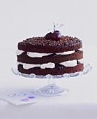 Black Forest gateau for a 25th birthday