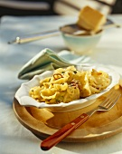 Pasta with fennel, cheese, chilli and lemon