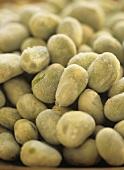 Frozen broad beans, full-frame