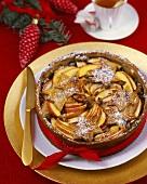 Christmas apple cake