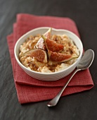 Rice pudding with honeyed figs