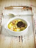 Arroz caldoso (rice soup, Spain)