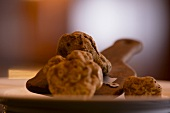 Truffles on a truffle slice