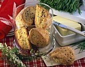 Herb and cheese scones (Ireland)