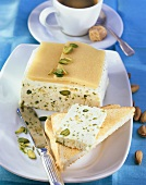Sweet marzipan and pistachio butter