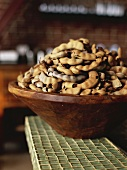 Tamarinds in a wooden bowl