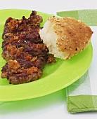 Zilzil Tibs (Rindfleisch in scharfer Sauce, Äthiopien)