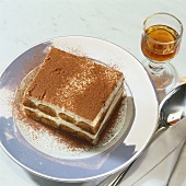 Tiramisù (Layered dessert made with coffee and mascarpone, Italy)