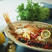Tunisian-style redfish