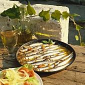 Sarde al forno (Baked sardines, Italy)