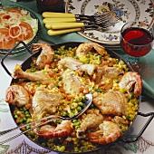 Paella (Spanish rice dish)