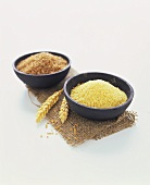 Bulgur and cracked wheat