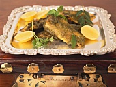 Bhopali Hare Masale Ki Macchli (Indian fish dish with herbs)