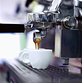 Espresso running out of espresso machine