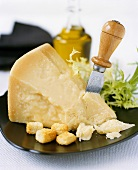 Parmesan with croutons