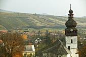 Die Ortschaft Tolcsva, Tokaj, Ungarn