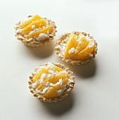 Orange ricotta tarts