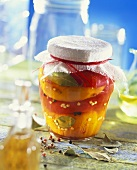 Peppers preserved in oil (Bulgaria)