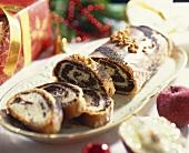 Makowiec (Poppy seed cake, traditional Christmas cake, Poland)