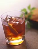 Americano: cocktail made with Vermouth Rosso and Campari