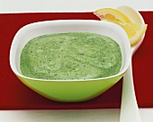 Spinach and feta sauce