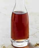 Bottle of red wine vinegar