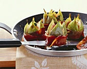 Fichi al Marsala (Ham-wrapped figs in Marsala, Italy)