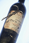 A bottle of red wine from Château Lynch-Bages