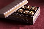 Chocolates in gift box