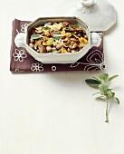 Fagioli ai porcini (Beans with ceps, Italy)
