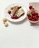 Semifreddo al mascarpone (Iced dessert, Italy)