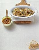 Filetti di trota in crosta (Trout fillets with breadcrumb crust)