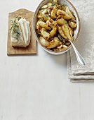 Patate al lardo di Colonnata (Potatoes with bacon, Tuscany)