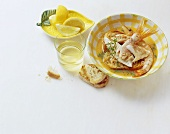 Brodetto di pesce (mixed fish stew), Calabria, Italy